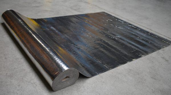 Ondervloer Rubber met alu Click PVC